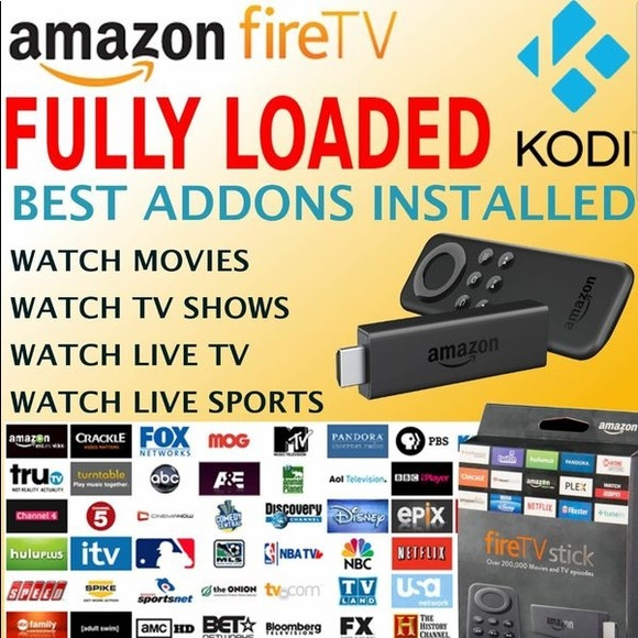JAILBROKEN !!! *AMAZON FIRE STICK * FULLY LOADED